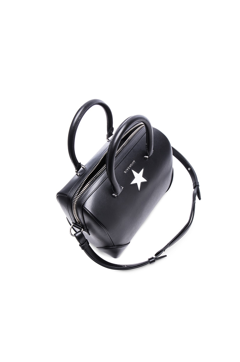 08bb445ec5a5 Image 5 of Givenchy Medium Lucrezia With Star in Black   White