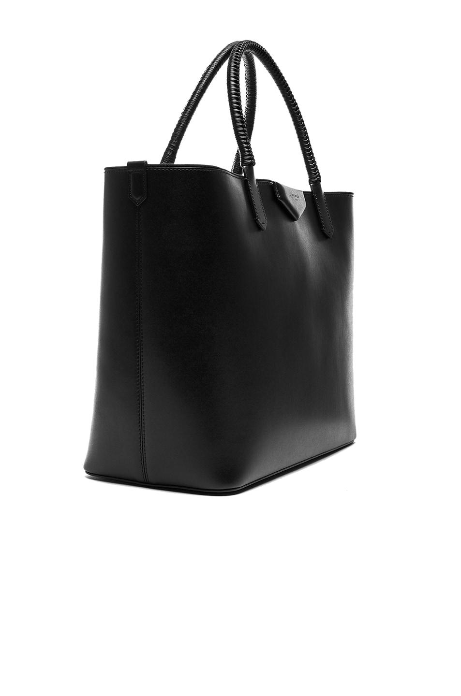 0dcd465b32 Image 4 of Givenchy Large Smooth Leather Antigona Shopping Bag in Black