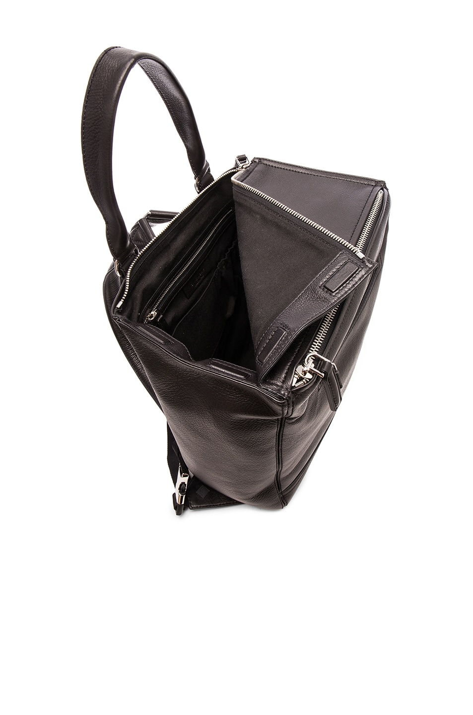 Image 5 of Givenchy Pandora Backpack in Black