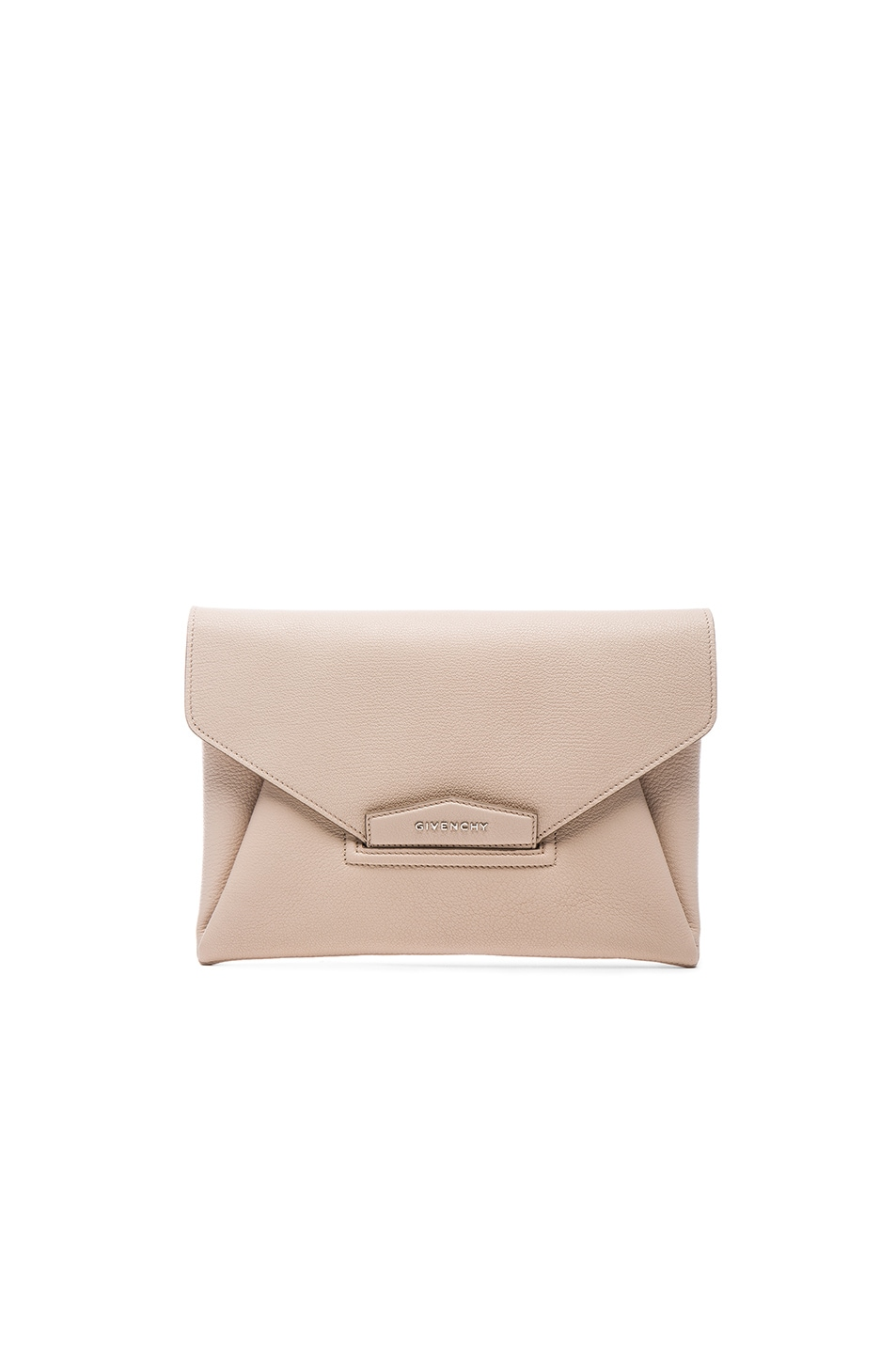 Image 1 of Givenchy Medium Antigona Envelope Clutch in Nude Pink