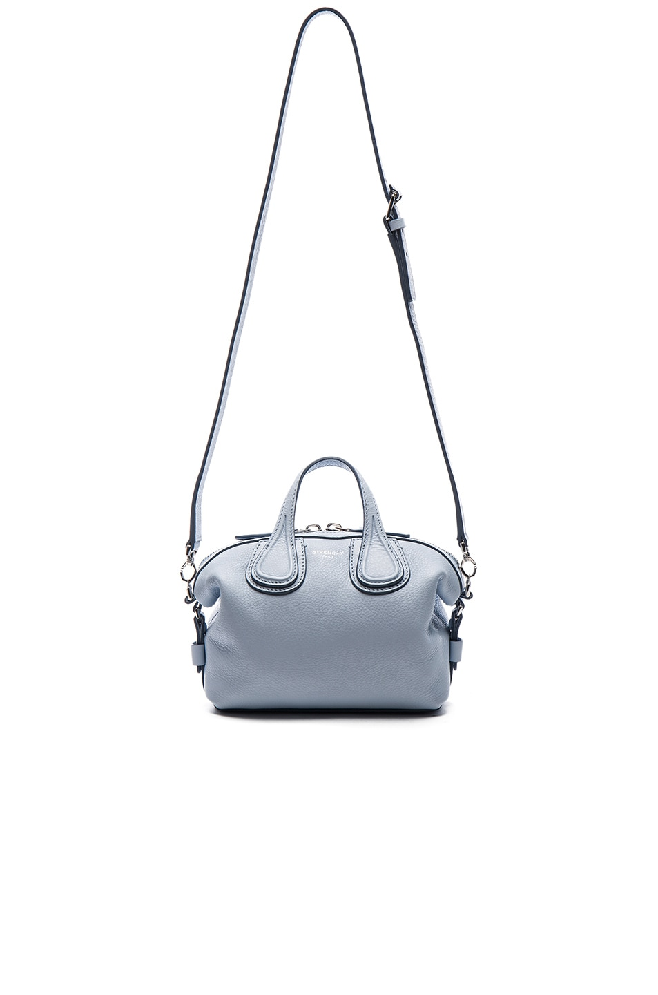 fbcf03ca819af Image 1 of Givenchy Micro Nightingale in Light Blue