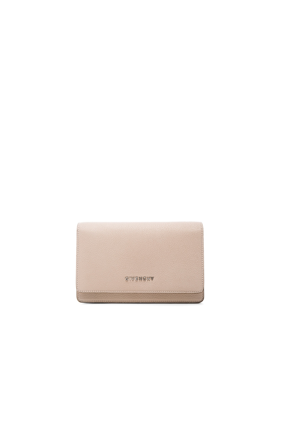Image 1 of Givenchy Pandora Chain Wallet in Nude Pink