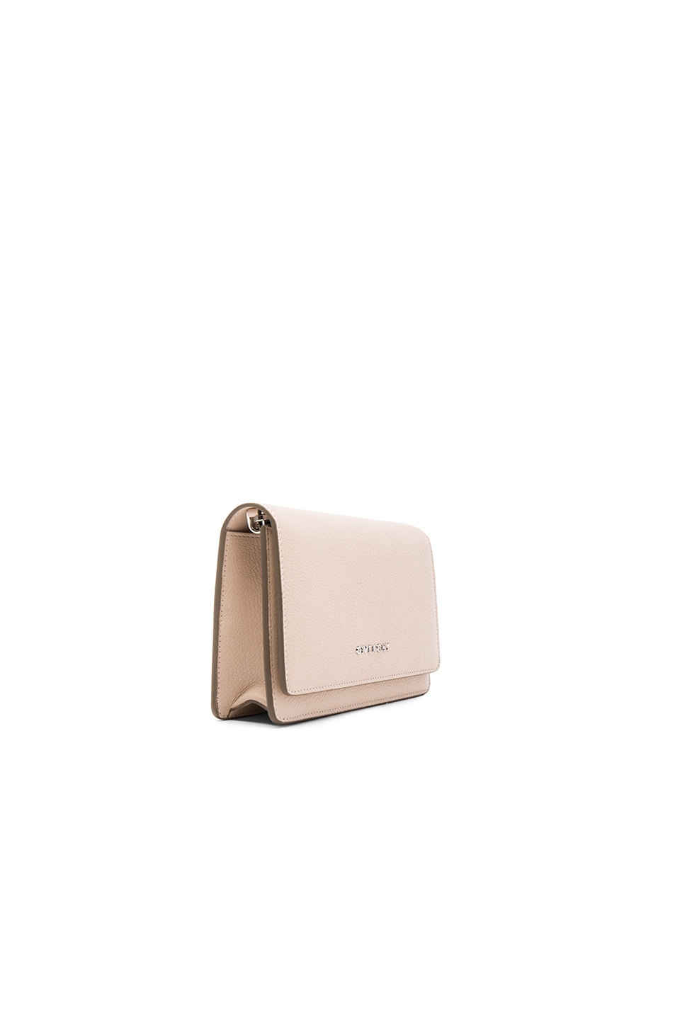 Image 4 of Givenchy Pandora Chain Wallet in Nude Pink