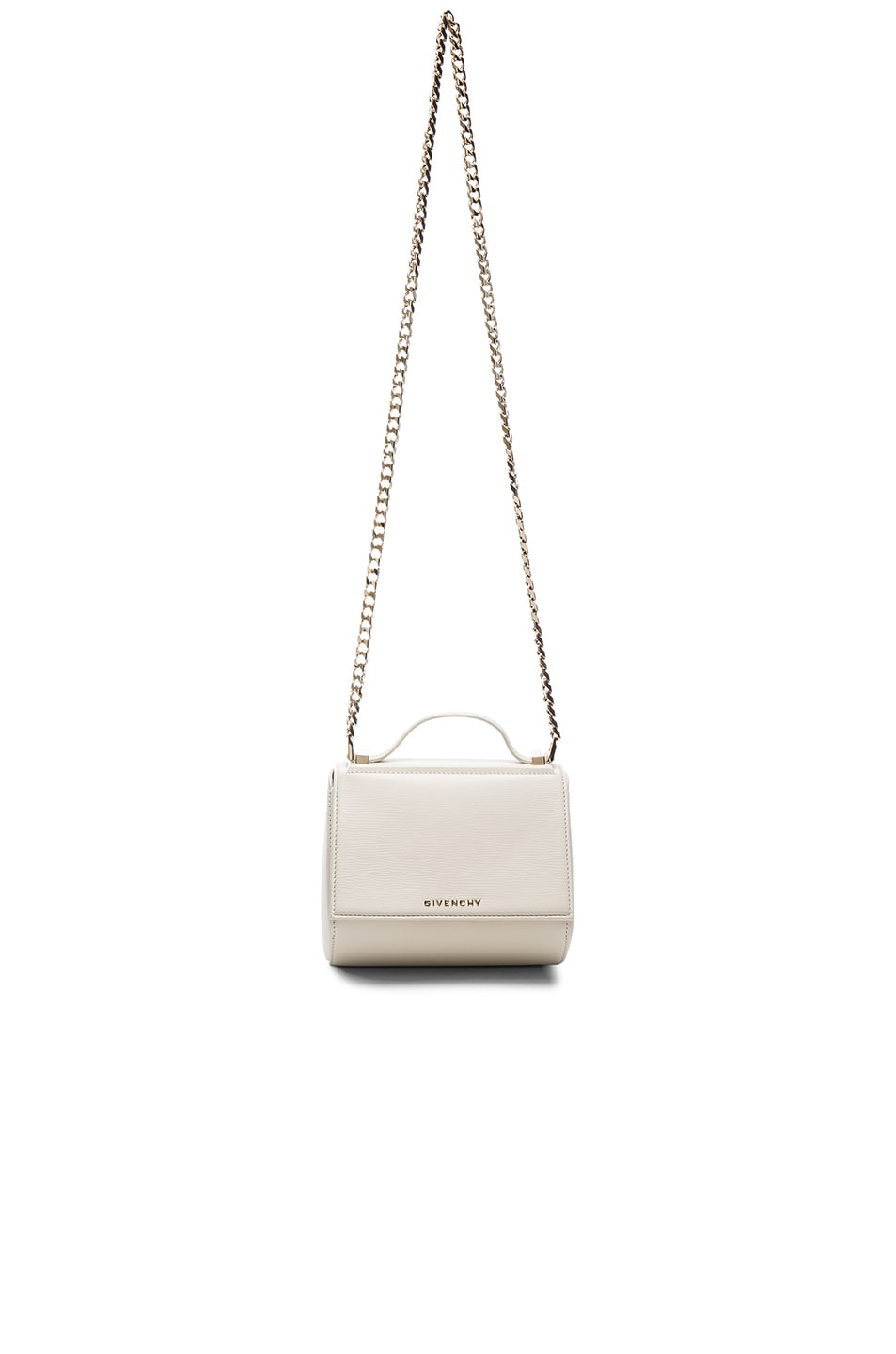 Image 1 of Givenchy Mini Chain Pandora Box in Ivory adc859e34c335