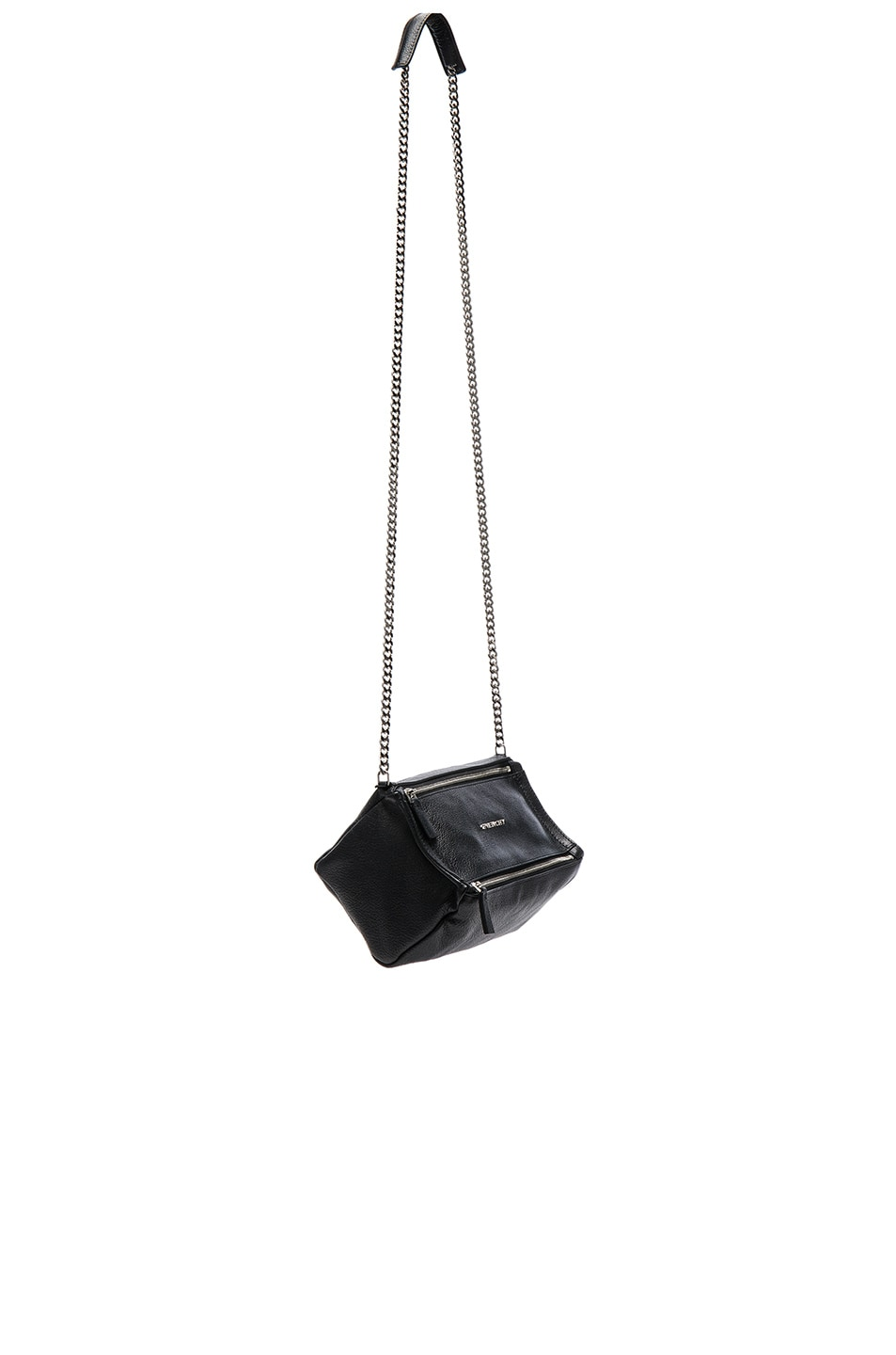 Image 1 of Givenchy Pandora Mini Sugar Chain Bag in Black