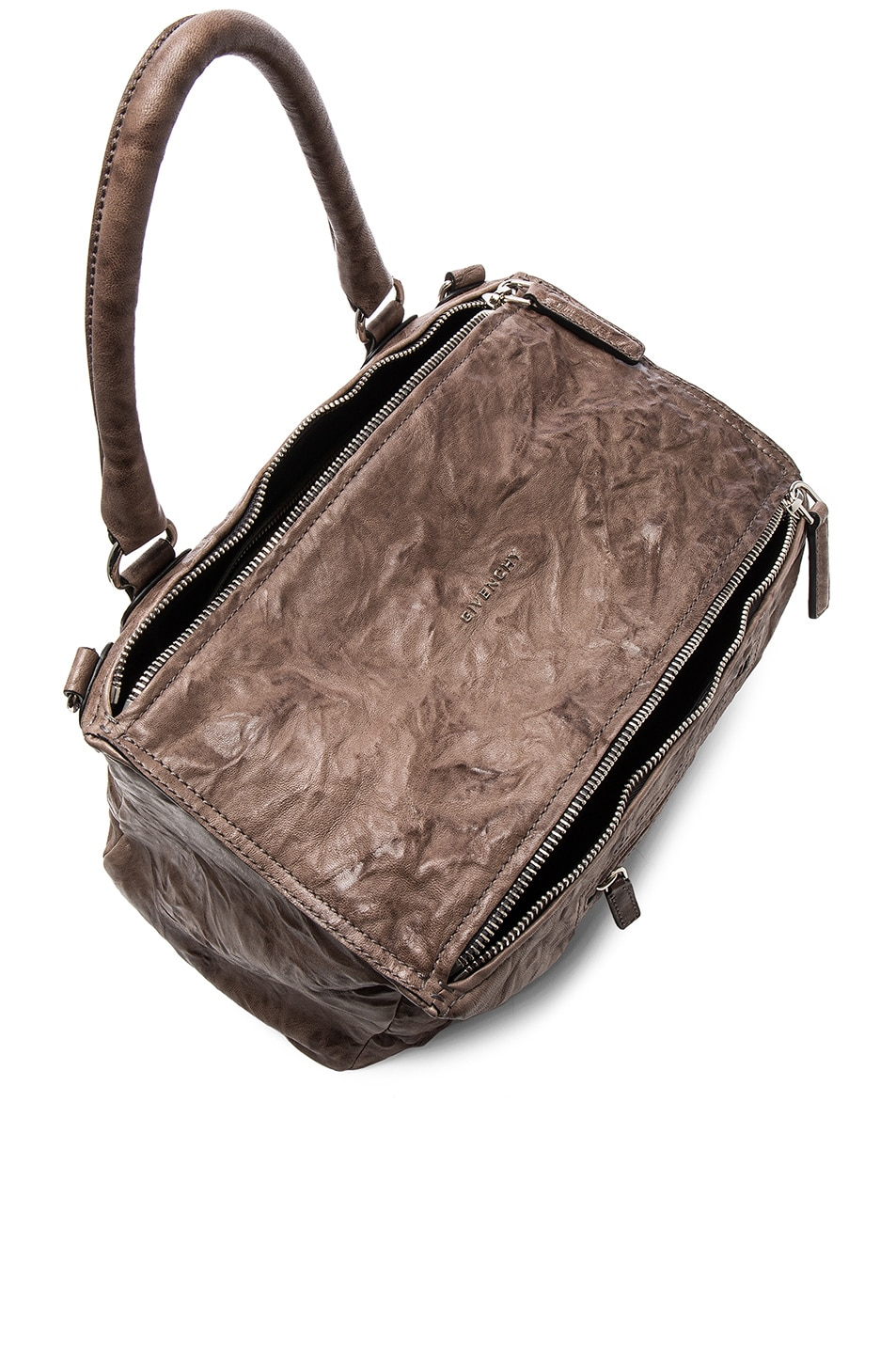 Image 4 of Givenchy Old Pepe Medium Pandora Bag in Anthracite