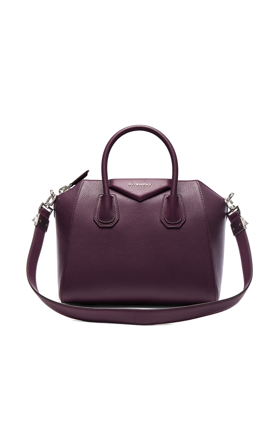 Image 1 of Givenchy Small Sugar Antigona in Dark Purple