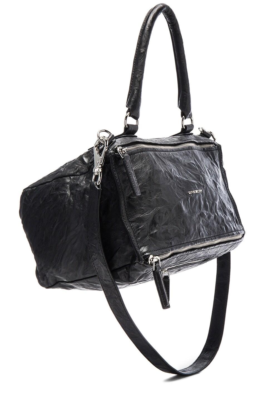 fb250c31819 Image 1 of Givenchy Medium Old Pepe Pandora in Black