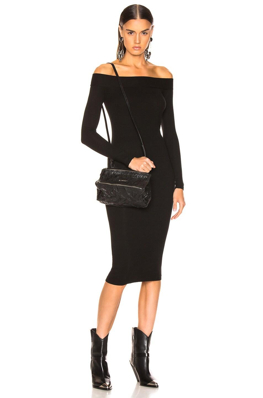 Image 2 of Givenchy Old Pepe Mini Pandora Bag in Black