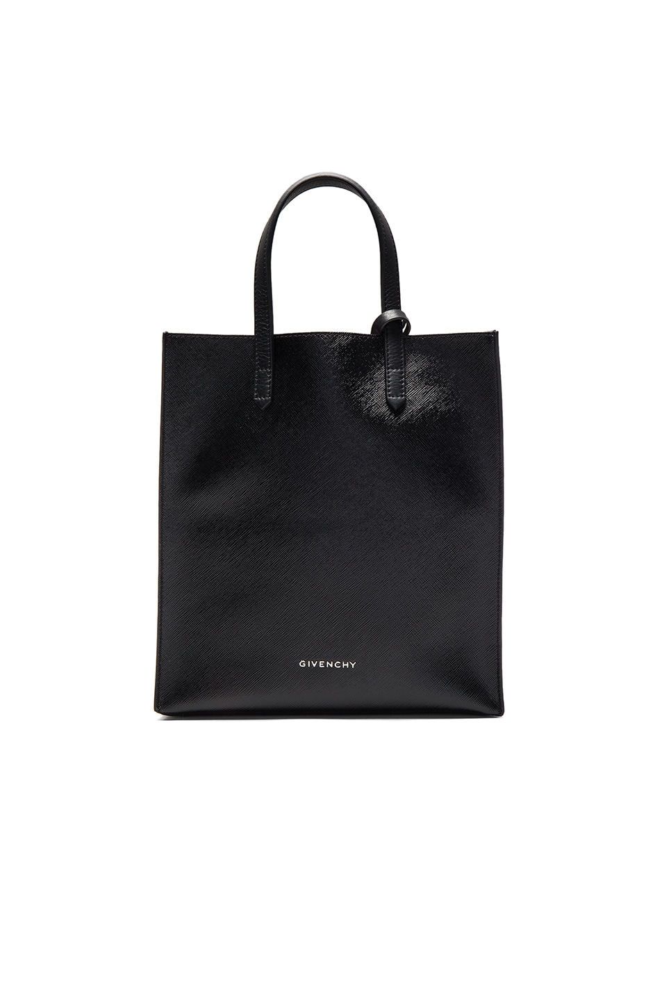 Image 1 of Givenchy Small Stargate Coated Canvas Tote in Black