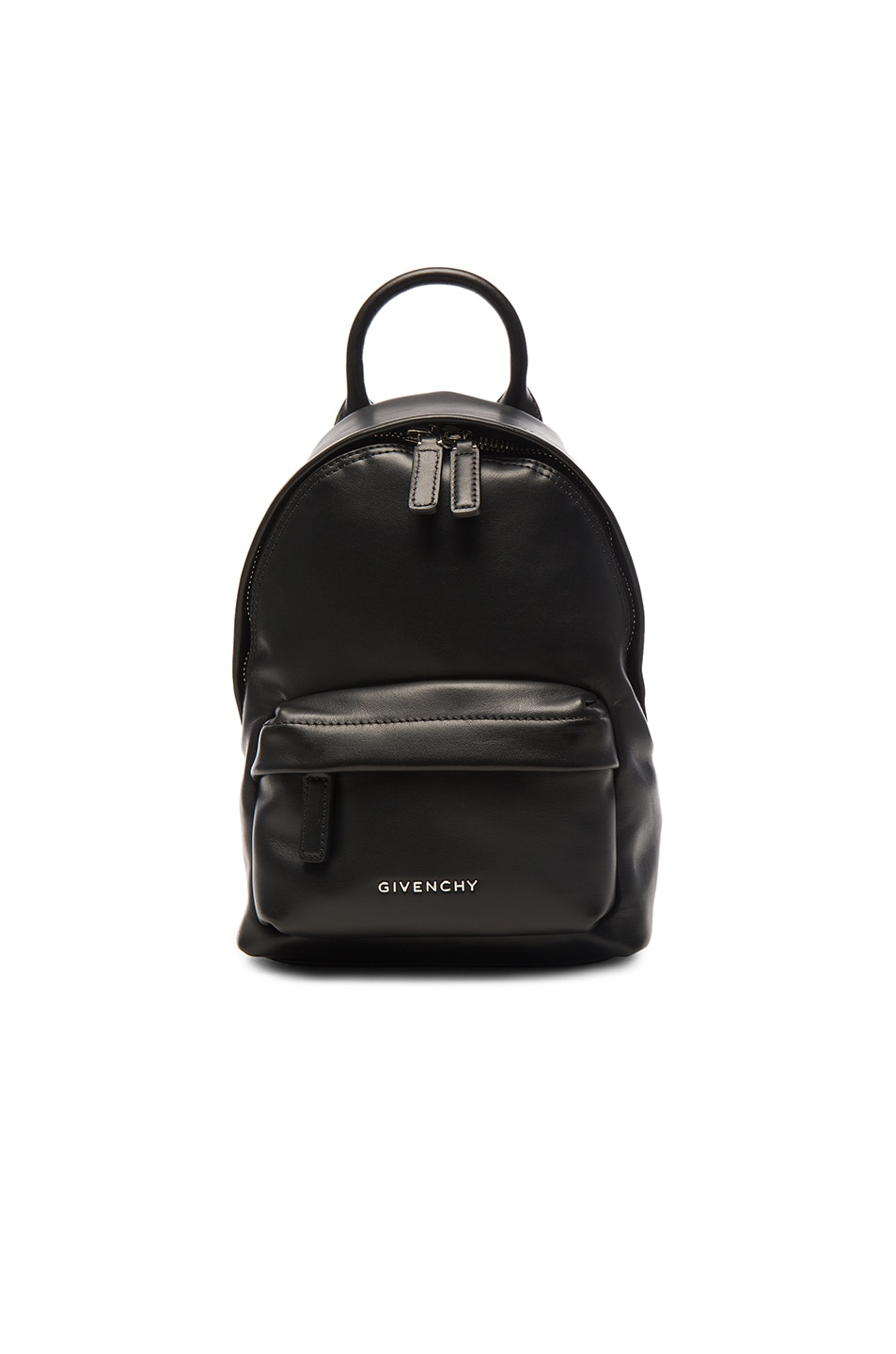 Image 1 of Givenchy Nano Smooth Leather Backpack in Black