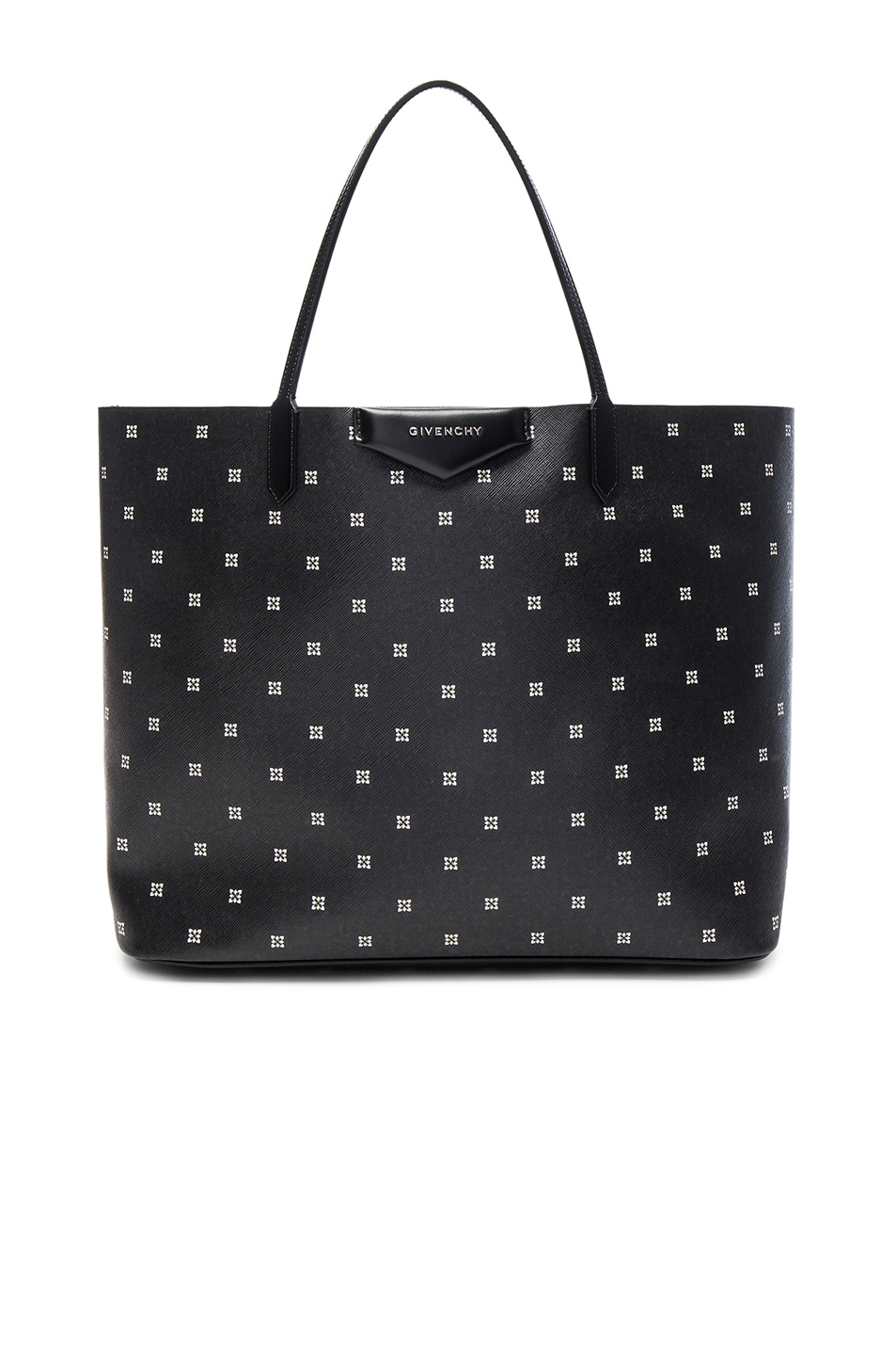 Image 1 of Givenchy Large Mini Lilies Print Antigona Tote in Multicolor