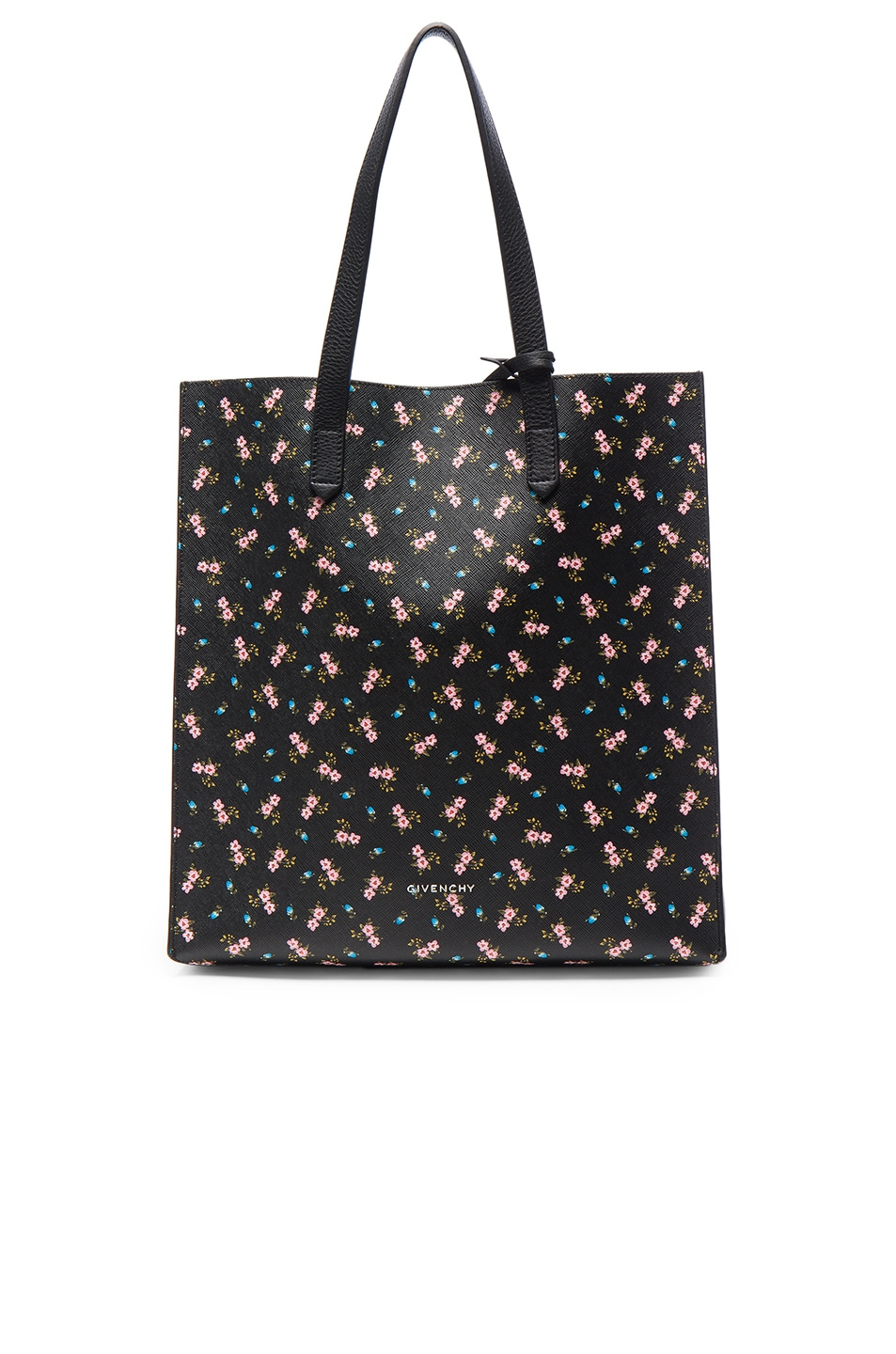 Image 1 of Givenchy Medium Pink Hibiscus Printed Stargate in Multicolor