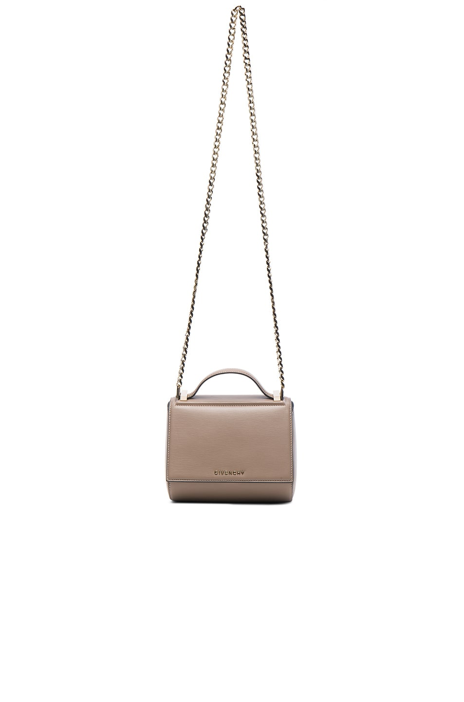 Image 1 of Givenchy Mini Chain Pandora Box in Mastic
