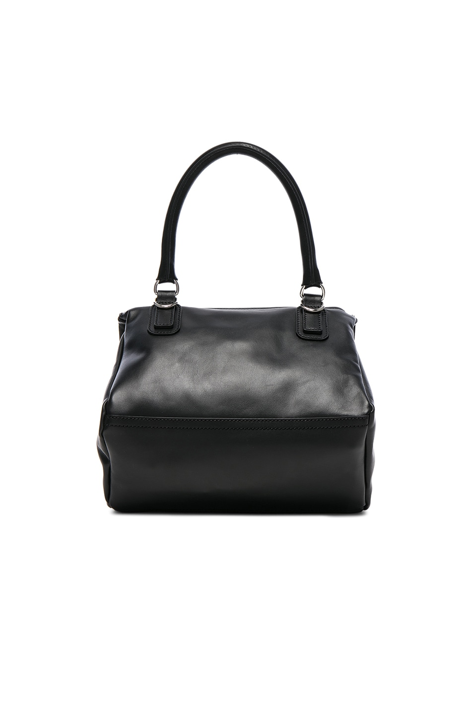 Image 2 of Givenchy Small Silver Stud Detail Leather Pandora in Black