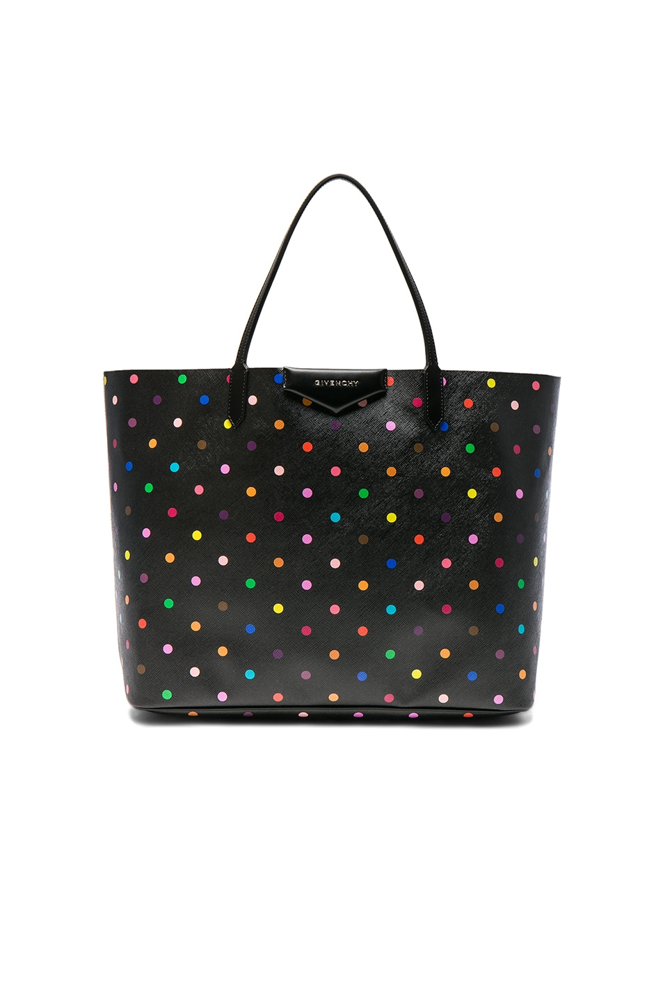 Image 1 of Givenchy Large Printed Antigona Tote in Black & Multi