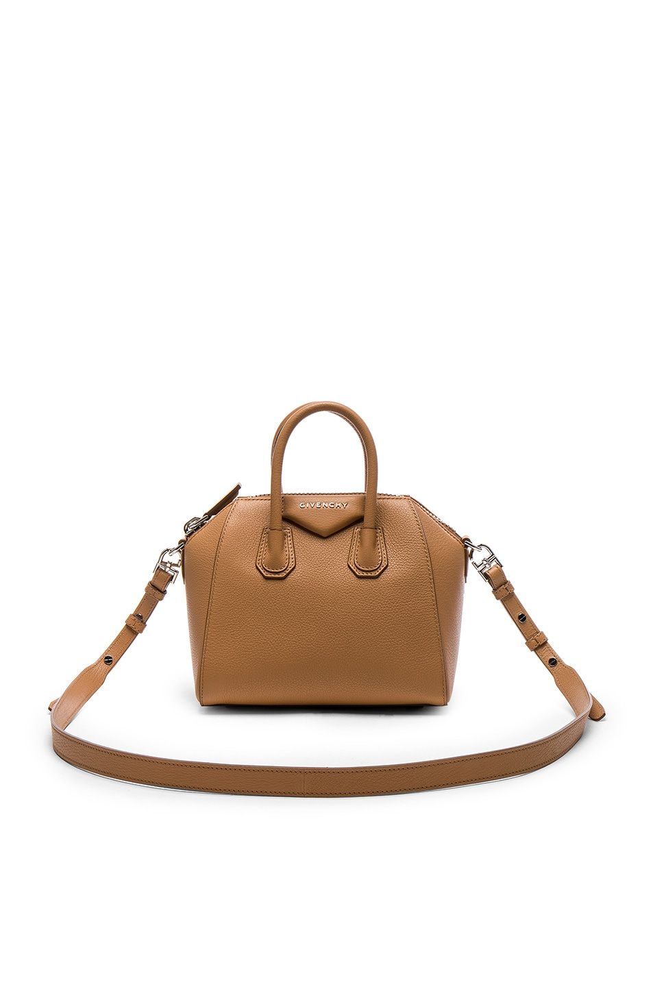 Image 1 of Givenchy Mini Sugar Antigona in Medium Beige