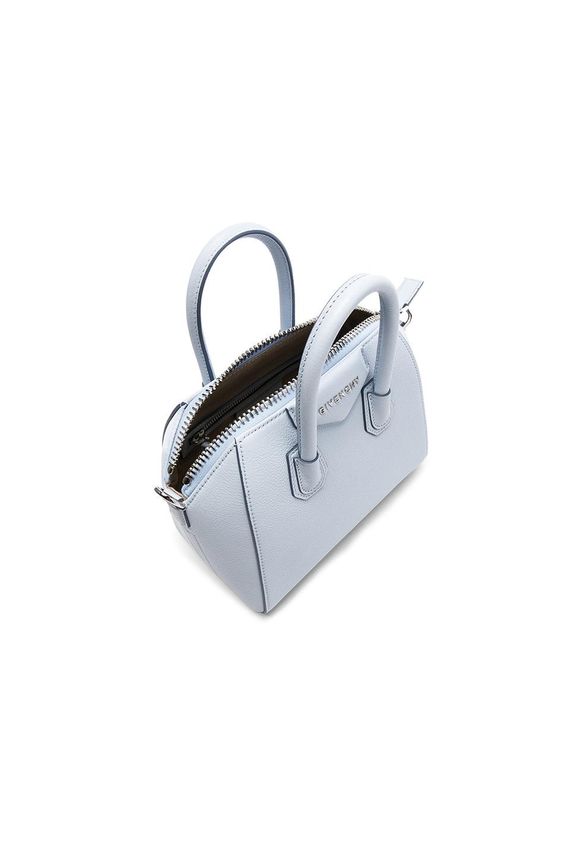 aba65fe0390 Image 4 of Givenchy Mini Sugar Antigona in Baby Blue