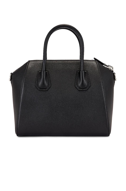 Image 3 of Givenchy Small Sugar Antigona in Black