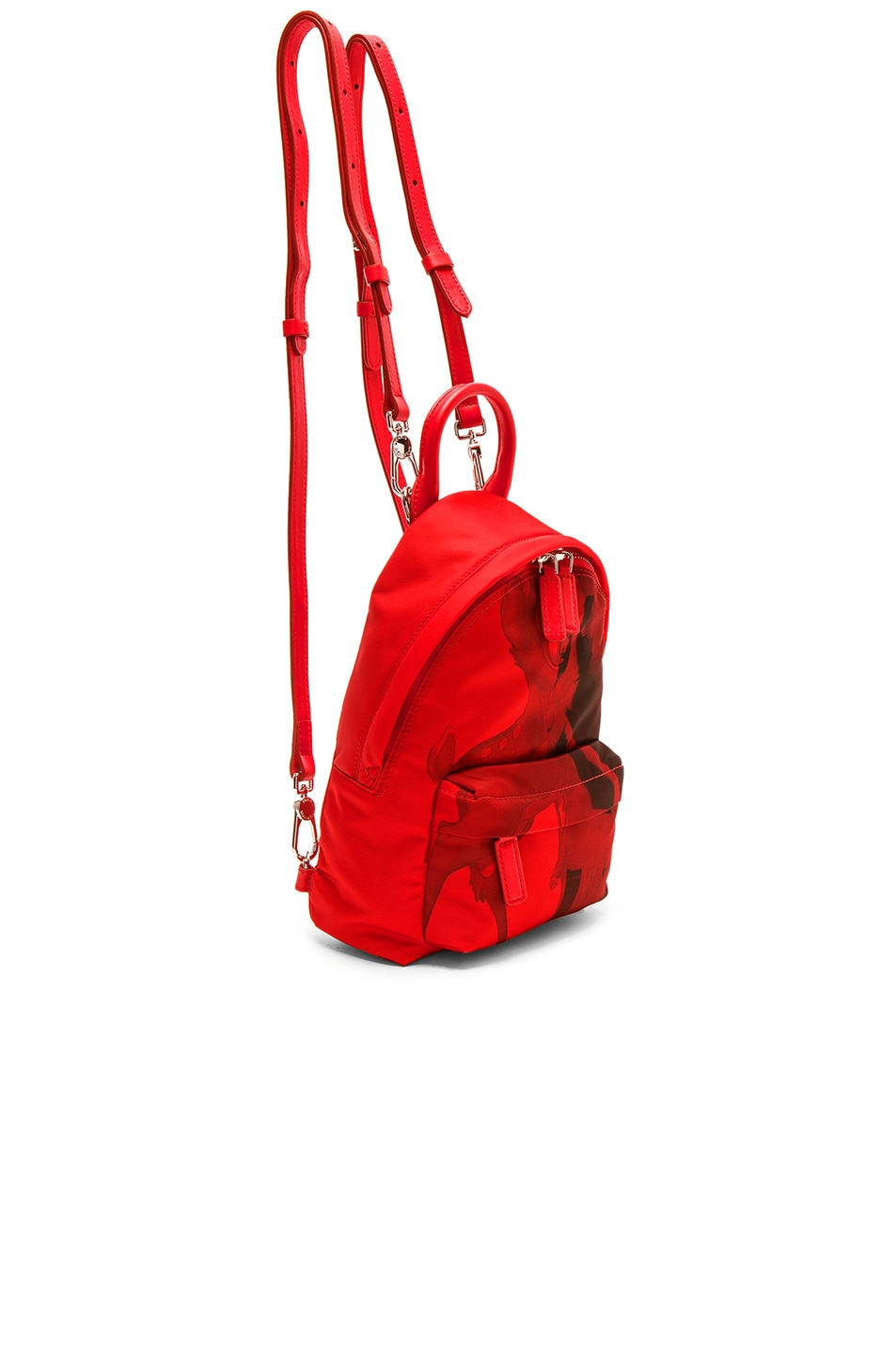 Image 3 of Givenchy Nano Backpack in Red