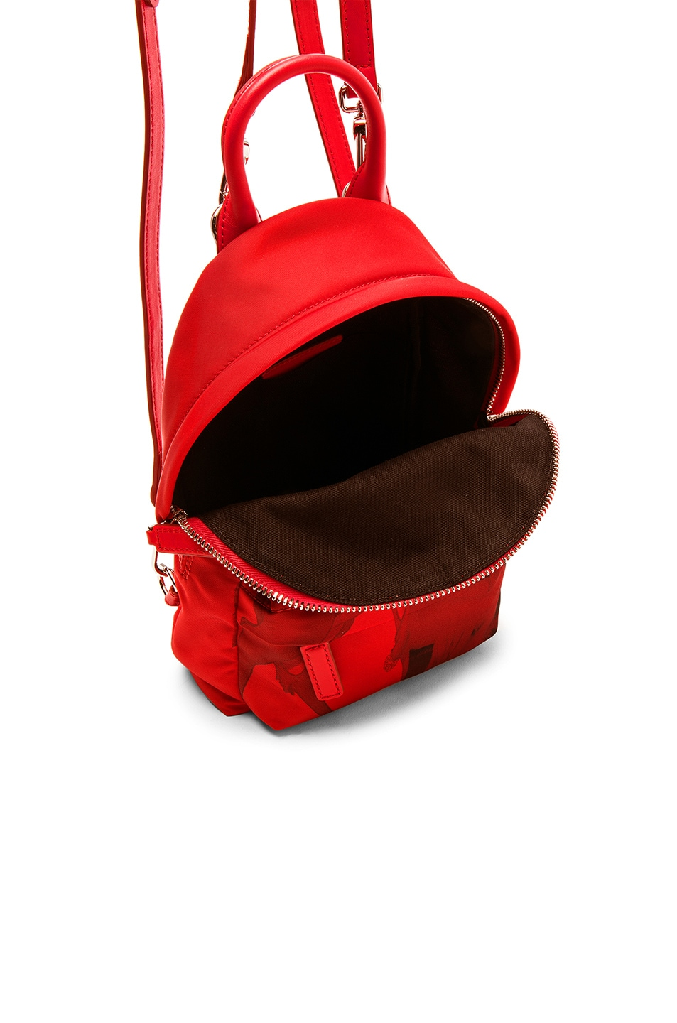 Image 4 of Givenchy Nano Backpack in Red