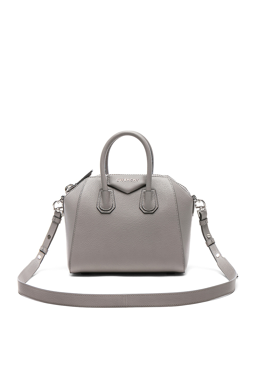 Image 1 of Givenchy Mini Sugar Antigona in Pearl Grey