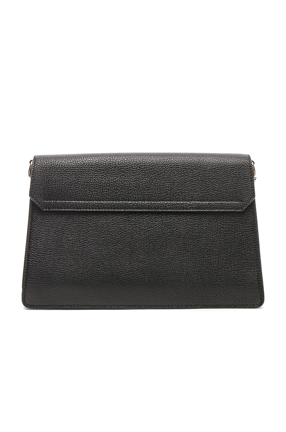 Image 3 of Givenchy Medium Leather GV3 in Black