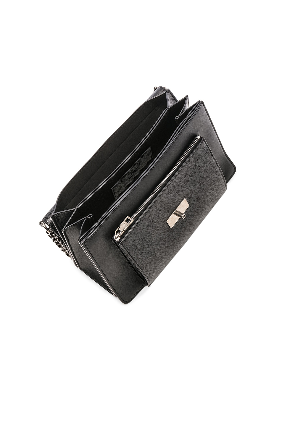 Image 5 of Givenchy Medium Leather GV3 in Black