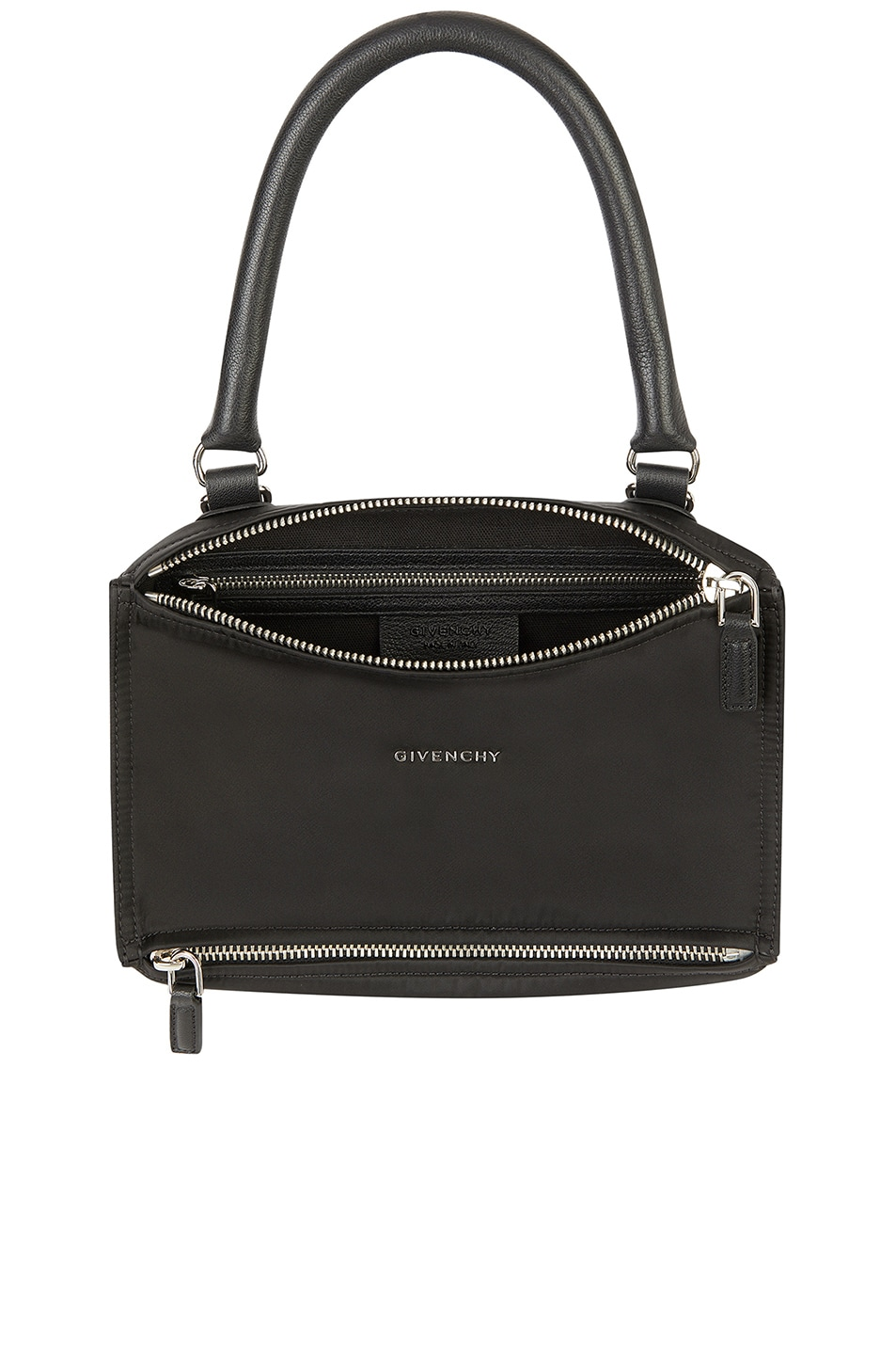 Image 5 of Givenchy Small Logo Strap Pandora in Black