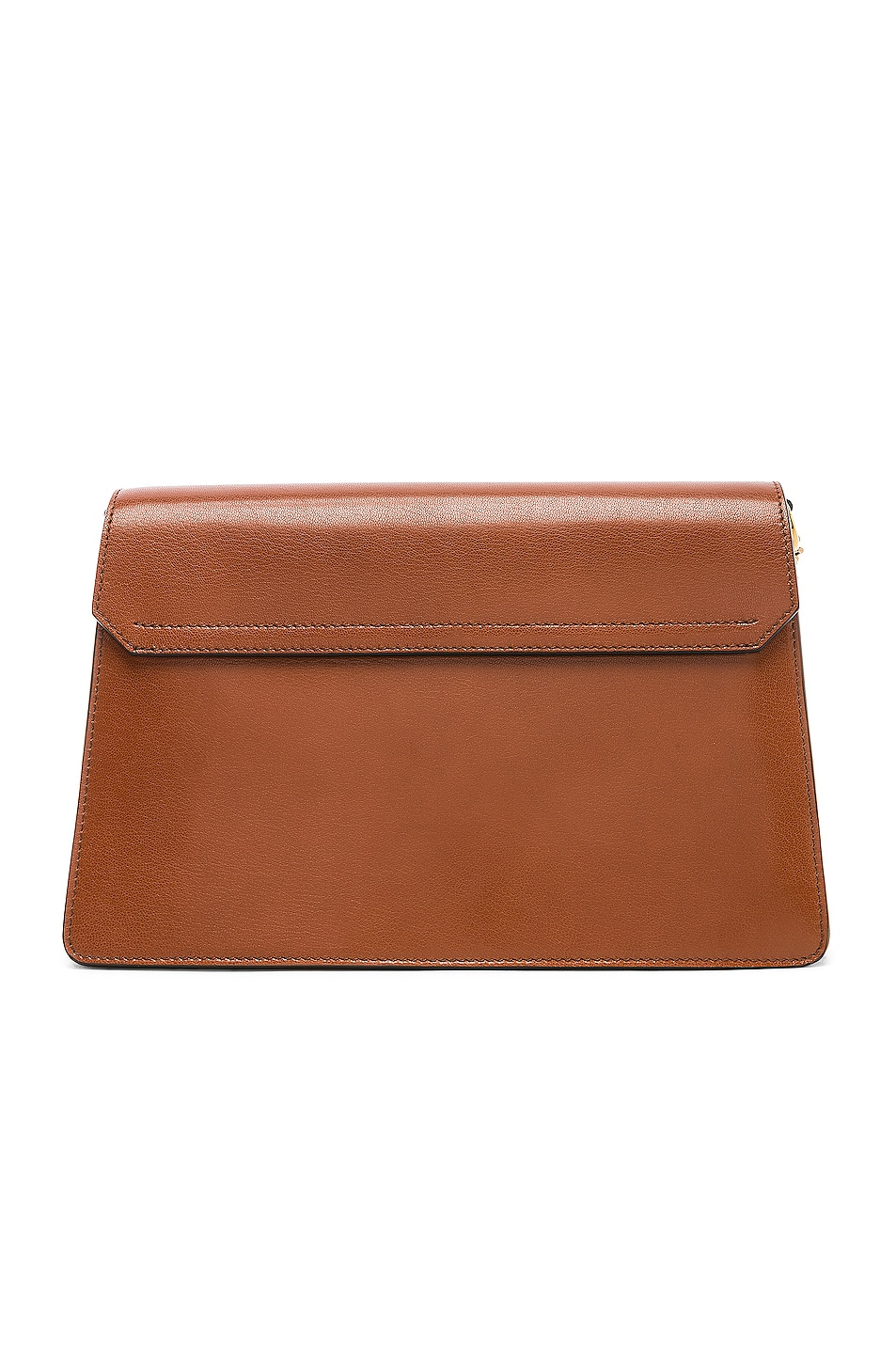 Image 3 of Givenchy Medium Leather GV3 in Chestnut