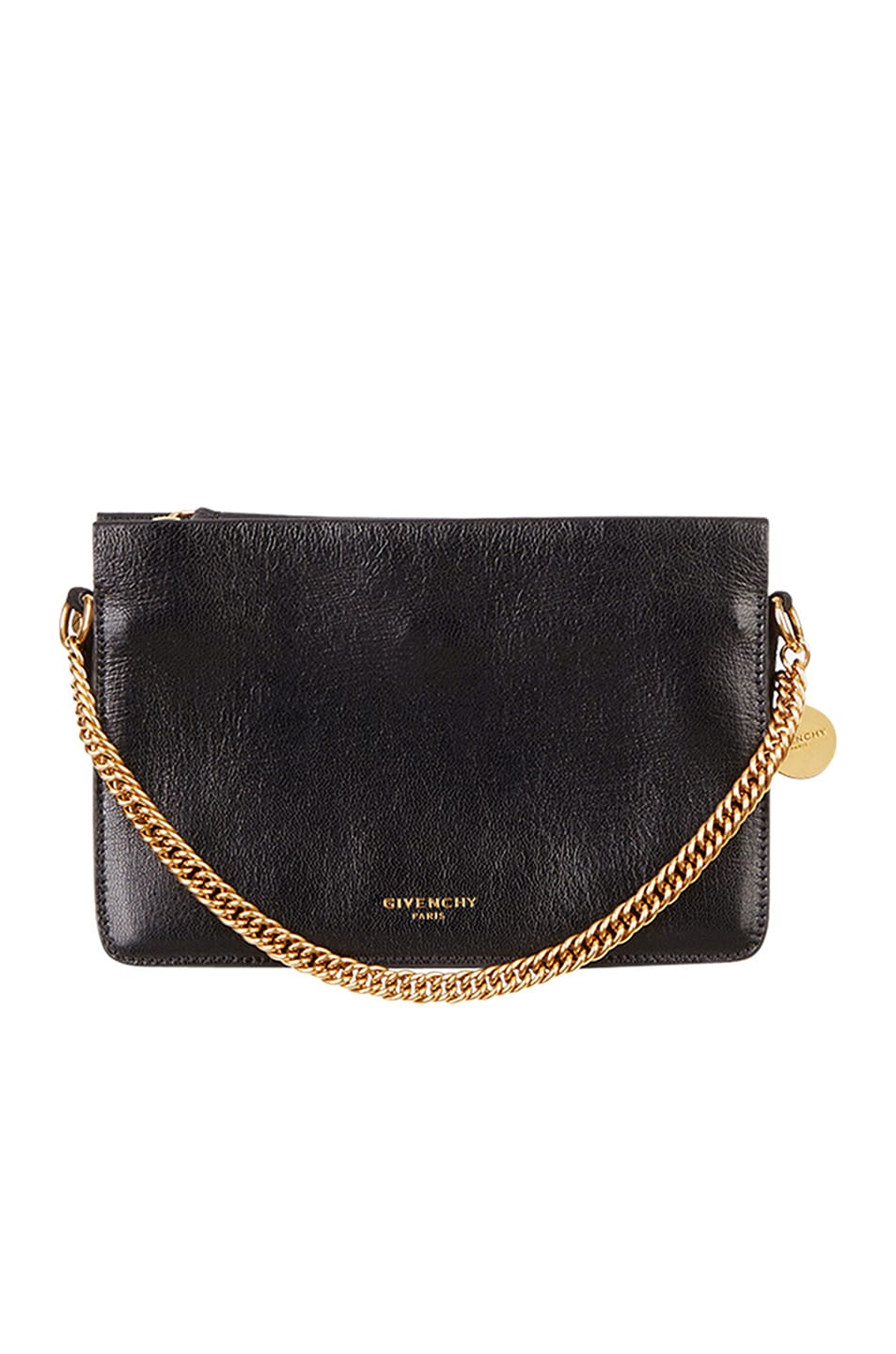 Image 1 of Givenchy Cross3 Leather Crossbody Bag in Black