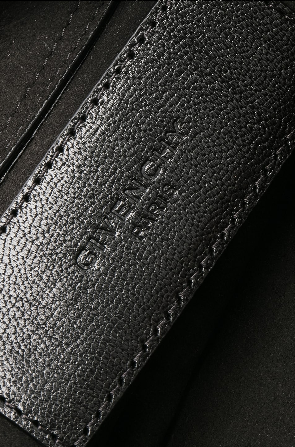 Image 7 of Givenchy Cross3 Leather Crossbody Bag in Black