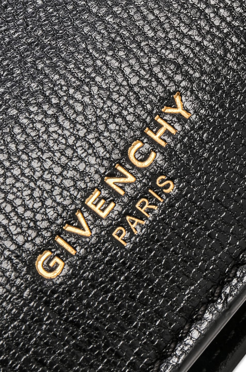 Image 8 of Givenchy Cross3 Leather Crossbody Bag in Black