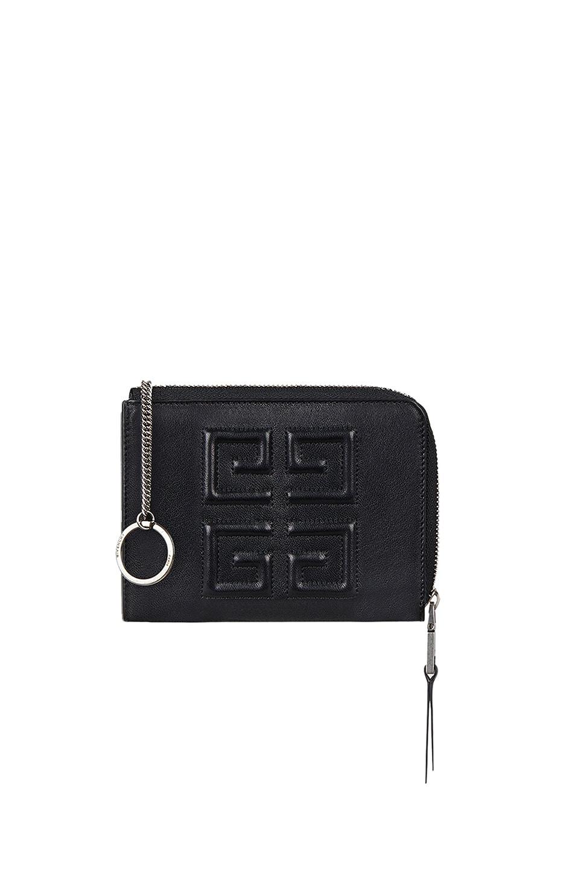 Image 5 of Givenchy Medium Emblem Zip Wallet in Black