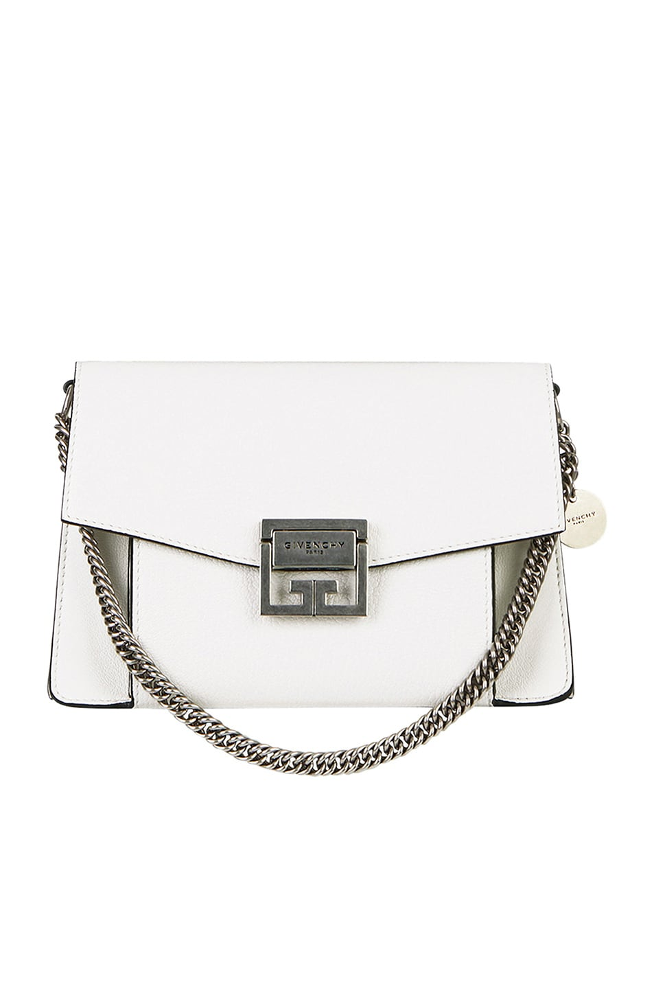 Image 5 of Givenchy Small Leather GV3 in White