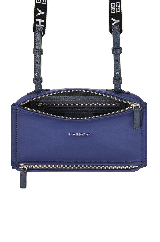 Image 4 of Givenchy Mini Logo Strap Pandora in Dark Blue