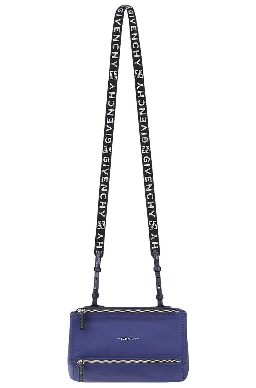 Image 5 of Givenchy Mini Logo Strap Pandora in Dark Blue