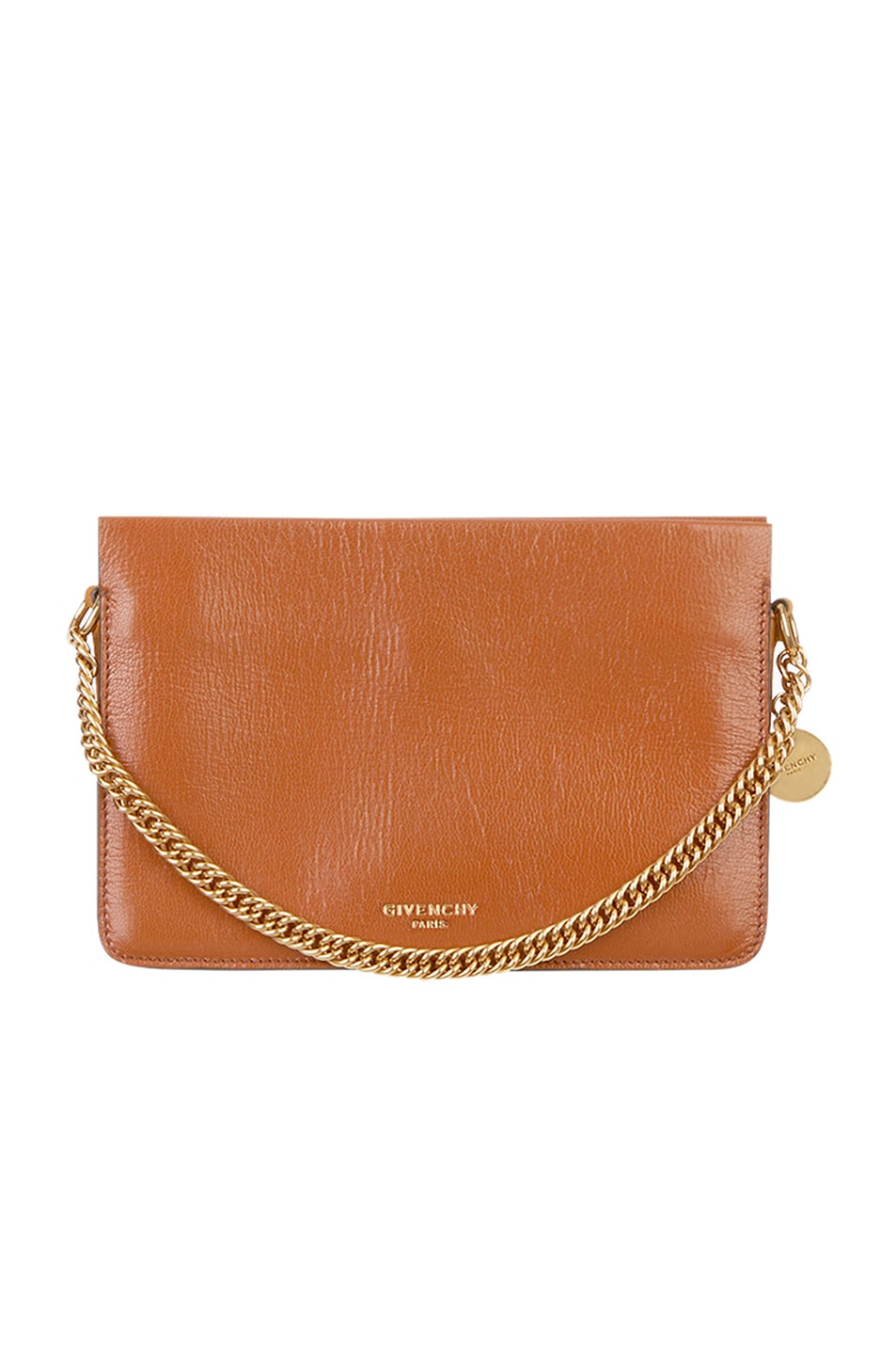 Image 1 of Givenchy Leather Crossbody Bag in Chestnut