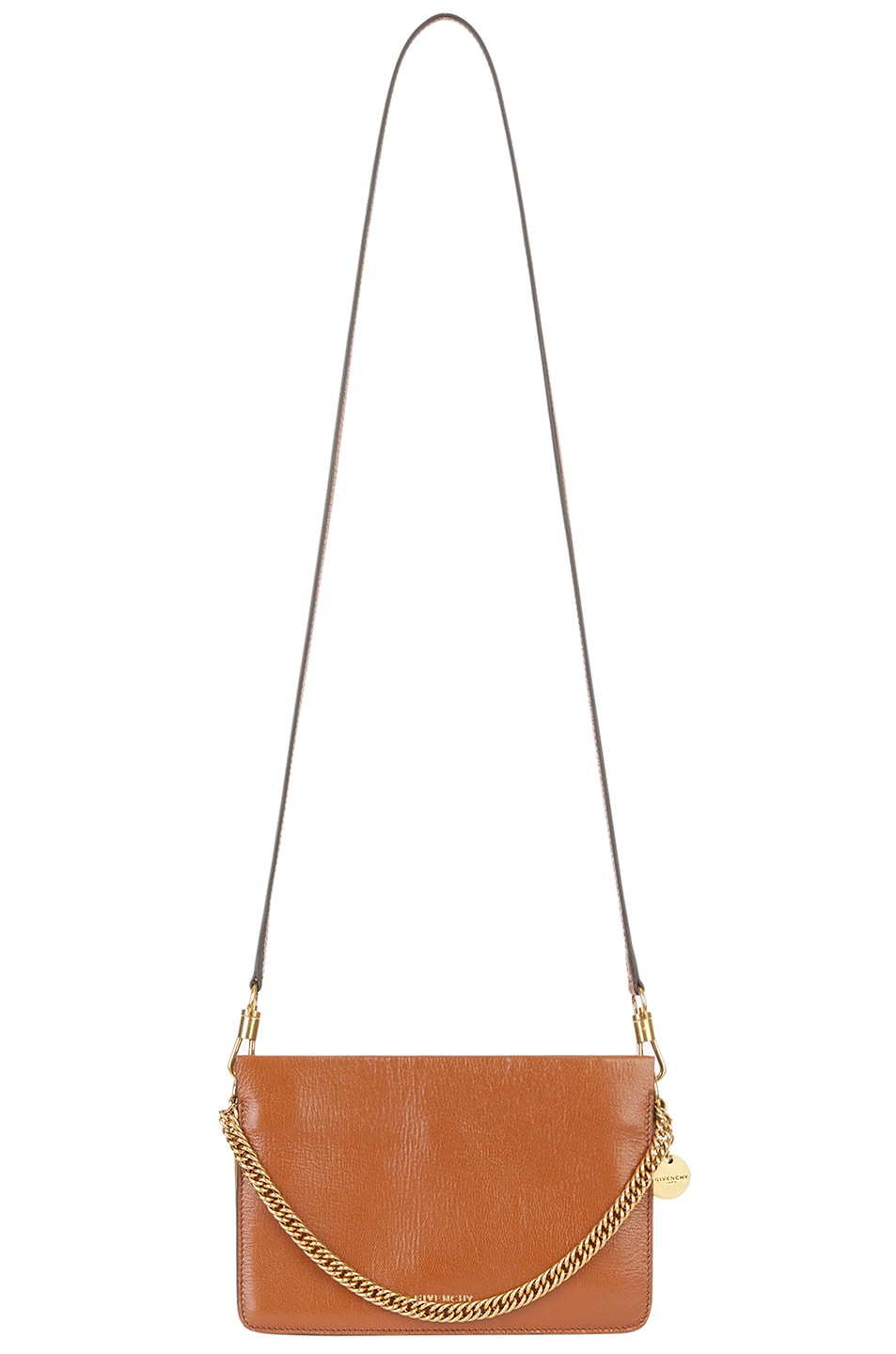 Image 3 of Givenchy Leather Crossbody Bag in Chestnut