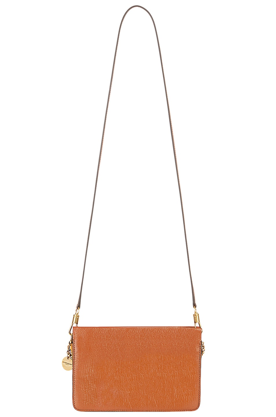 Image 4 of Givenchy Leather Crossbody Bag in Chestnut