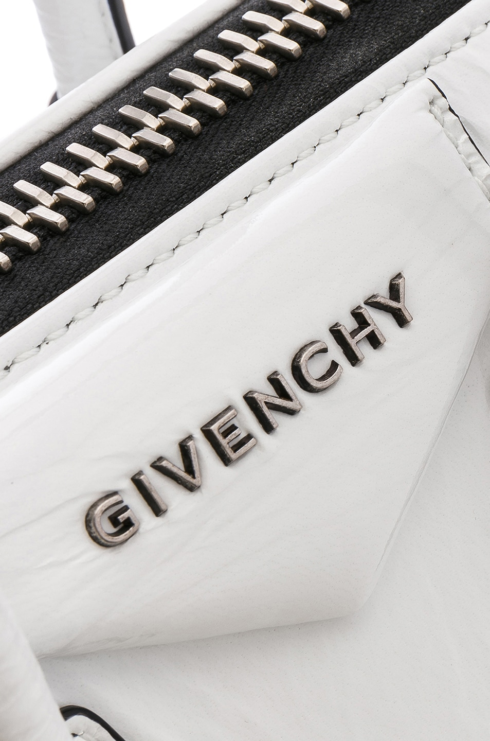 Image 8 of Givenchy Mini Antigona in White