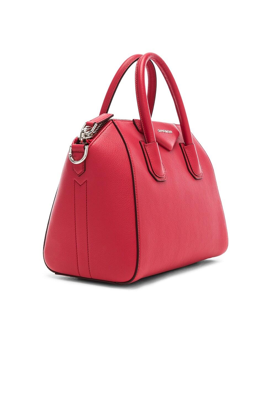 Image 4 of Givenchy Small Sugar Antigona in Geranium Pink