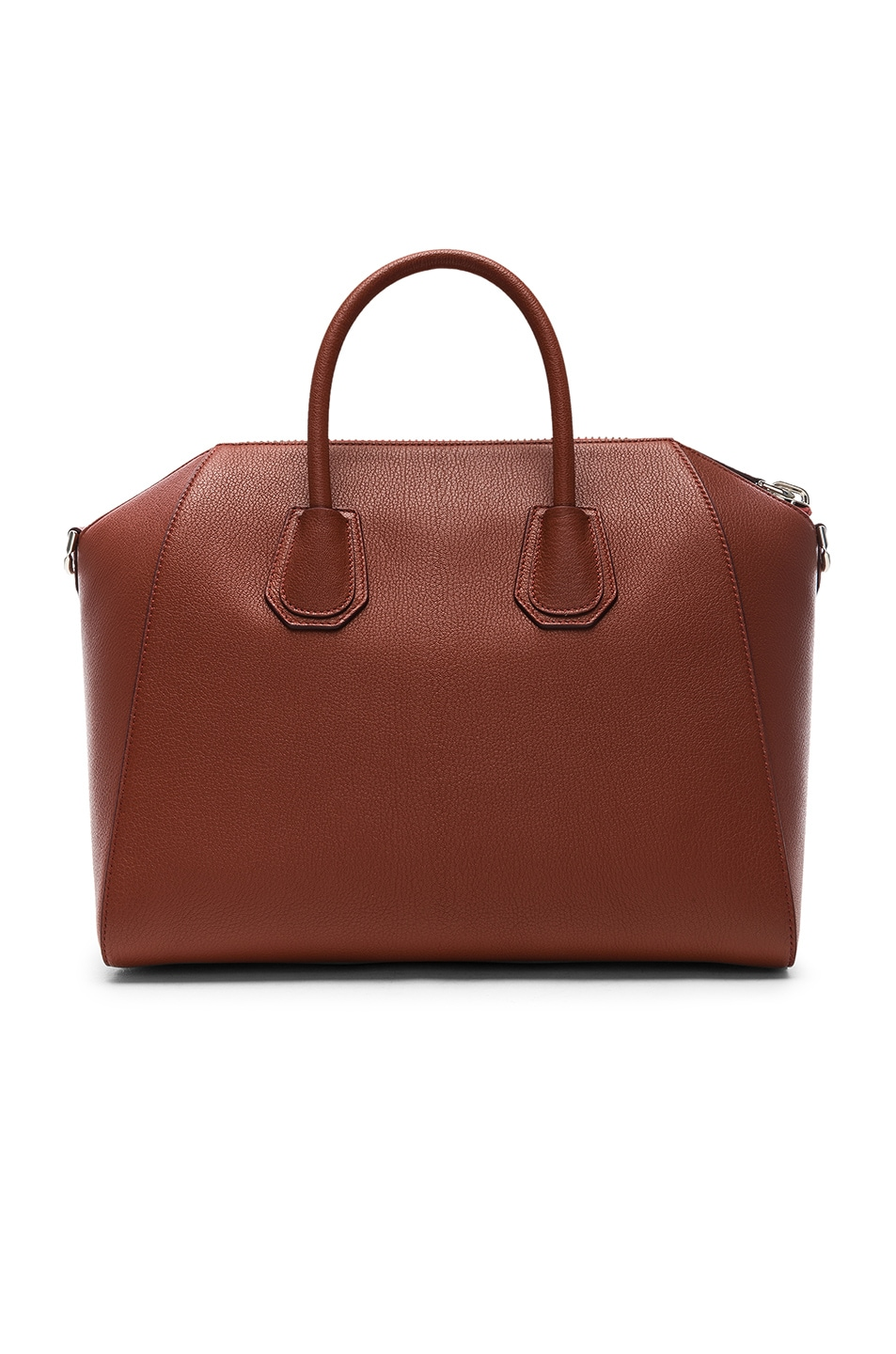 Image 3 of Givenchy Medium Sugar Antigona in Terracotta