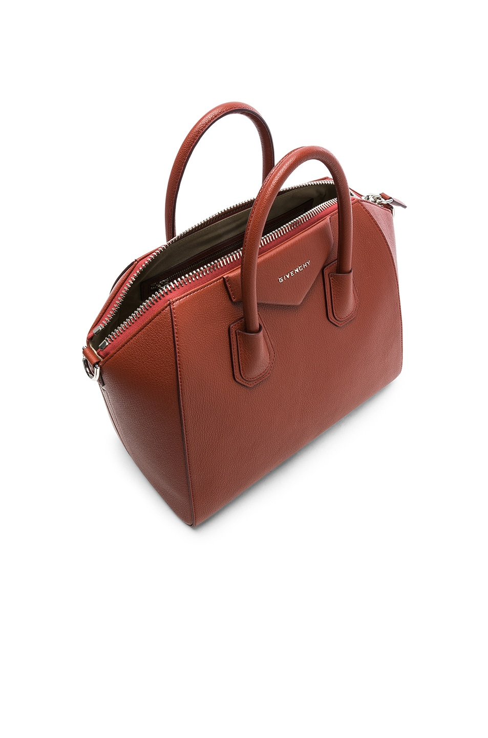 Image 5 of Givenchy Medium Sugar Antigona in Terracotta