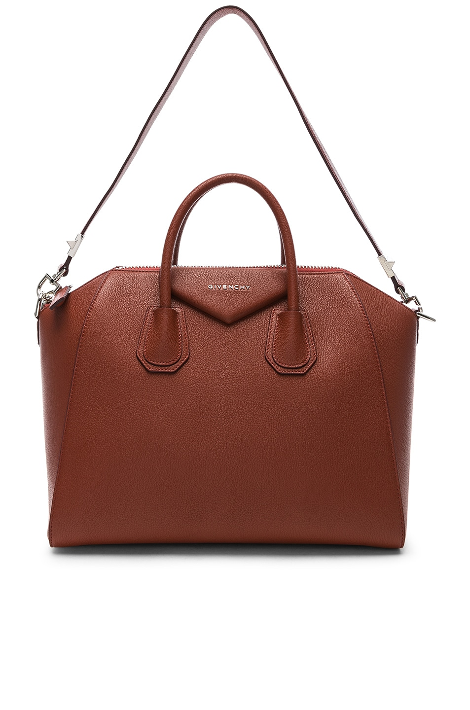 Image 6 of Givenchy Medium Sugar Antigona in Terracotta