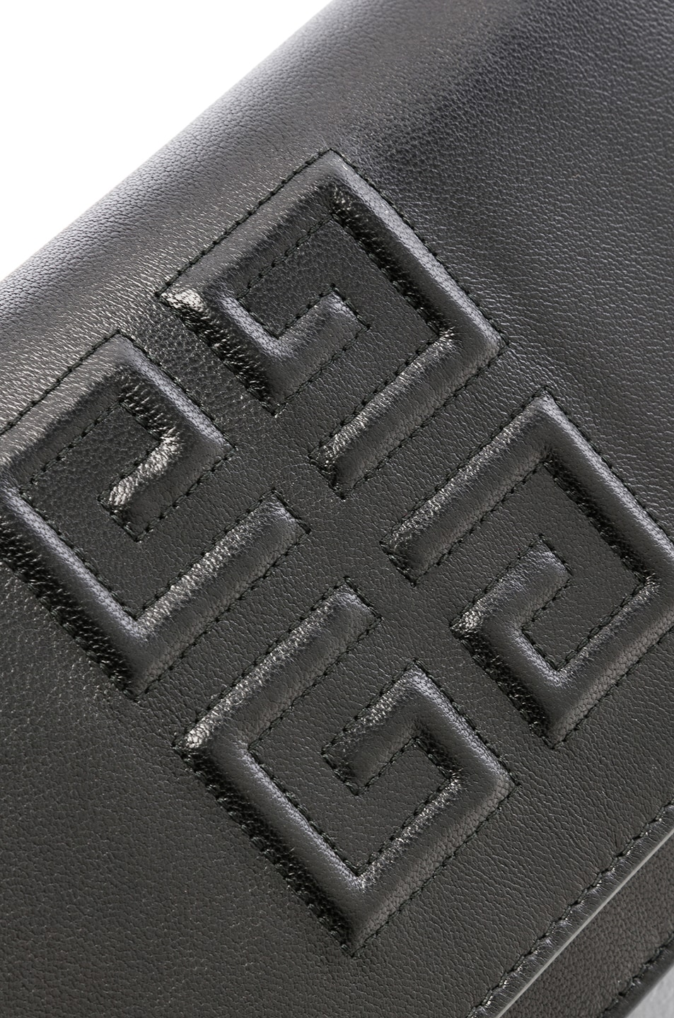 Image 8 of Givenchy Emblem Chain Wallet in Black