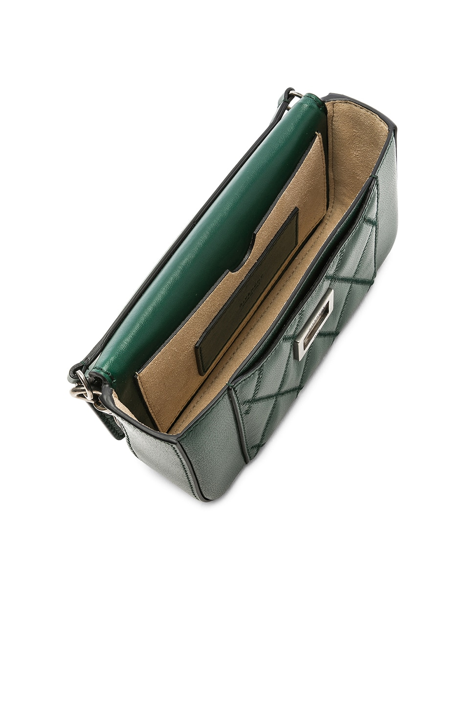 Image 5 of Givenchy Pocket Chain Wallet in Green Forest