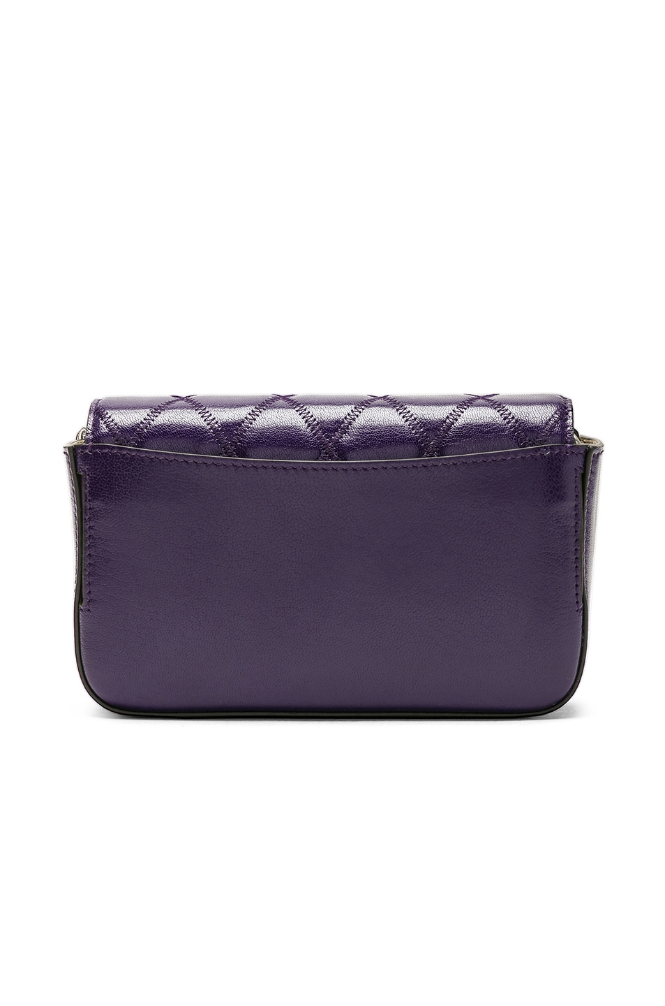 Image 3 of Givenchy Pocket Chain Wallet in Purple
