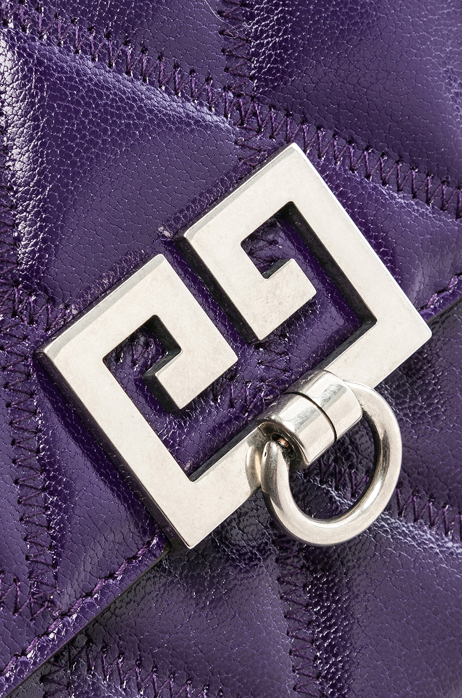 Image 8 of Givenchy Pocket Chain Wallet in Purple