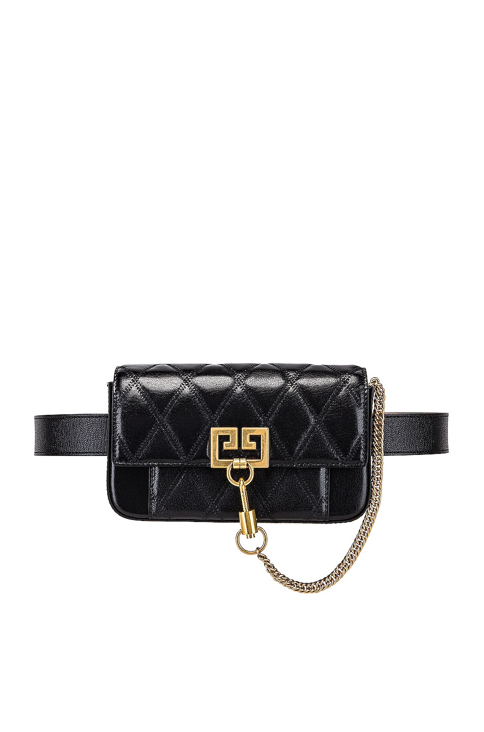 Image 4 of Givenchy Pocket Chain Wallet in Black